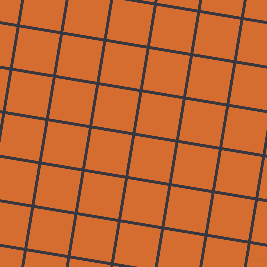 81/171 degree angle diagonal checkered chequered lines, 10 pixel line width, 141 pixel square size, Black Marlin and Gold Drop plaid checkered seamless tileable