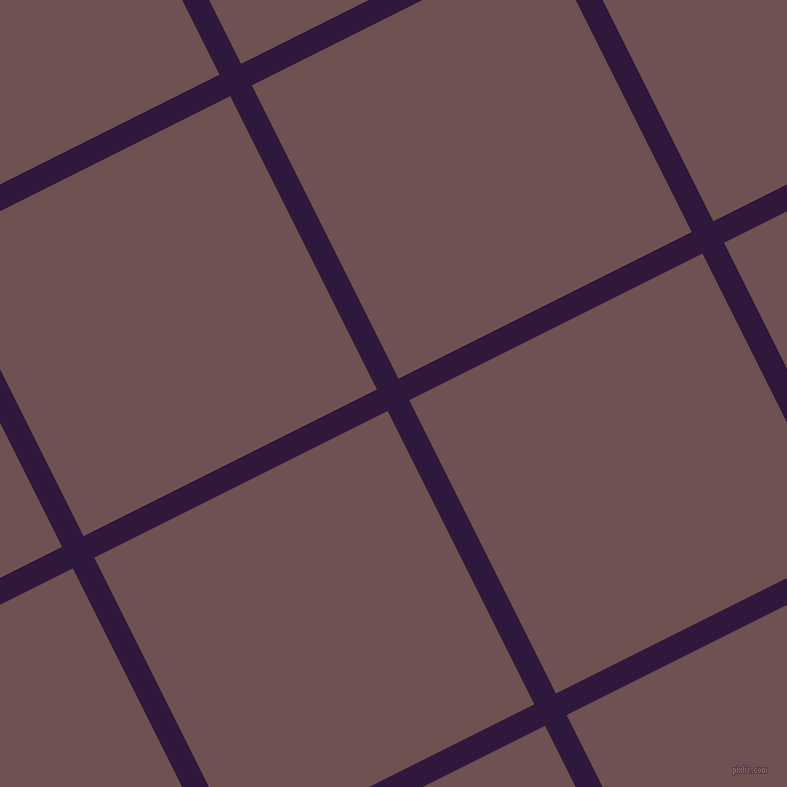 27/117 degree angle diagonal checkered chequered lines, 24 pixel lines width, 328 pixel square size, Blackcurrant and Buccaneer plaid checkered seamless tileable