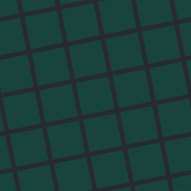 11/101 degree angle diagonal checkered chequered lines, 19 pixel lines width, 135 pixel square size, Blue Charcoal and Deep Teal plaid checkered seamless tileable