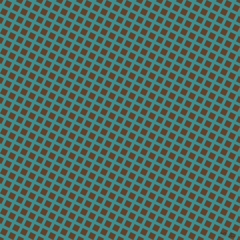 63/153 degree angle diagonal checkered chequered lines, 6 pixel line width, 12 pixel square size, Blue Chill and Irish Coffee plaid checkered seamless tileable