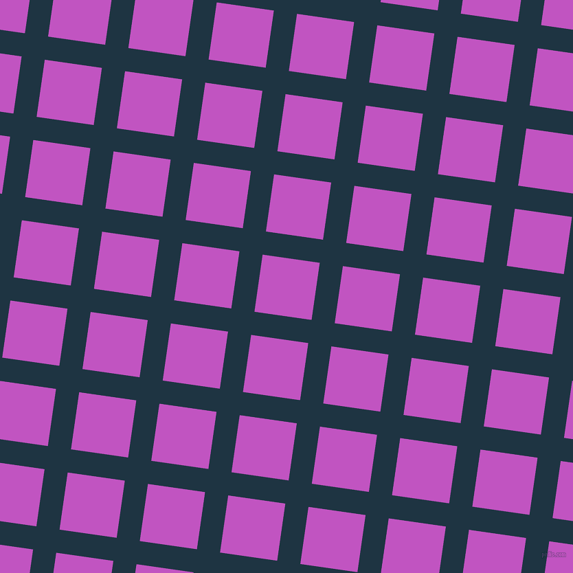 82/172 degree angle diagonal checkered chequered lines, 34 pixel lines width, 84 pixel square size, Blue Whale and Fuchsia plaid checkered seamless tileable