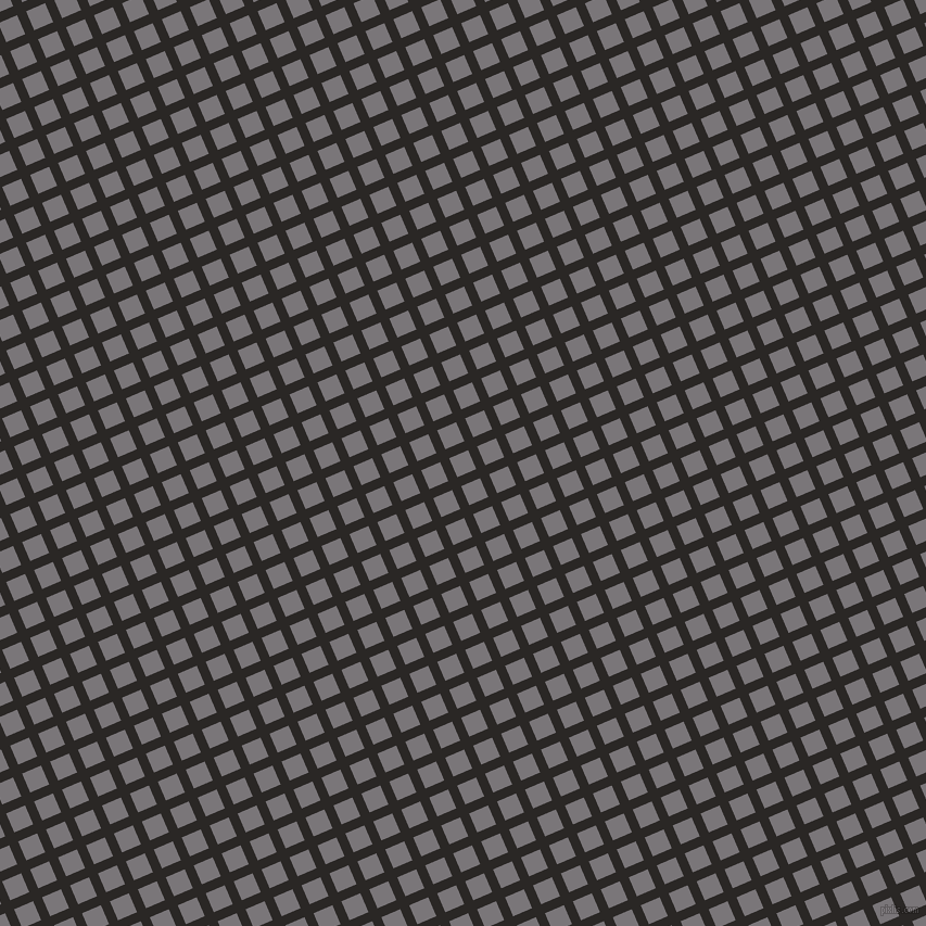 23/113 degree angle diagonal checkered chequered lines, 9 pixel lines width, 19 pixel square size, Bokara Grey and Monsoon plaid checkered seamless tileable