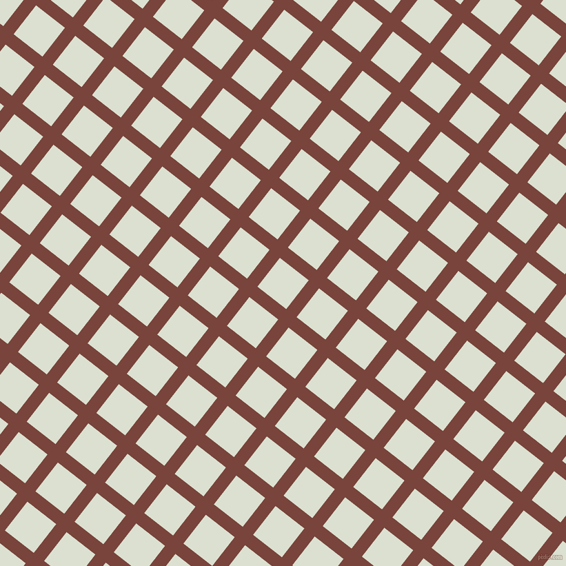52/142 degree angle diagonal checkered chequered lines, 19 pixel line width, 53 pixel square size, Bole and Feta plaid checkered seamless tileable