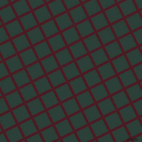 27/117 degree angle diagonal checkered chequered lines, 9 pixel lines width, 45 pixel square size, Bordeaux and Celtic plaid checkered seamless tileable