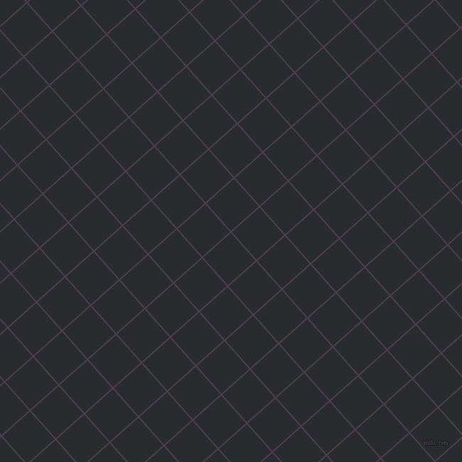 42/132 degree angle diagonal checkered chequered lines, 2 pixel lines width, 52 pixel square size, Bossanova and Bunker plaid checkered seamless tileable