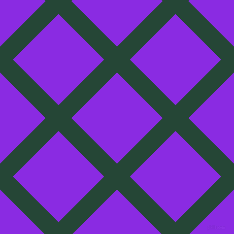 45/135 degree angle diagonal checkered chequered lines, 36 pixel lines width, 127 pixel square size, Bottle Green and Blue Violet plaid checkered seamless tileable