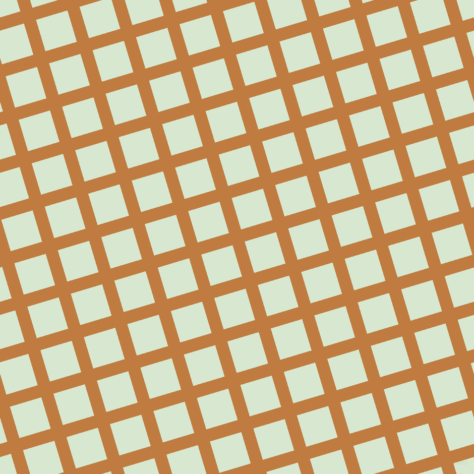 17/107 degree angle diagonal checkered chequered lines, 25 pixel lines width, 65 pixel square size, Brandy Punch and Peppermint plaid checkered seamless tileable
