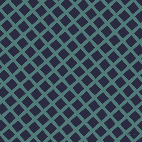 42/132 degree angle diagonal checkered chequered lines, 11 pixel lines width, 29 pixel square size, Breaker Bay and Valhalla plaid checkered seamless tileable
