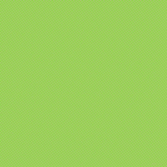 63/153 degree angle diagonal checkered chequered lines, 1 pixel lines width, 4 pixel square size, Bright Green and Coriander plaid checkered seamless tileable