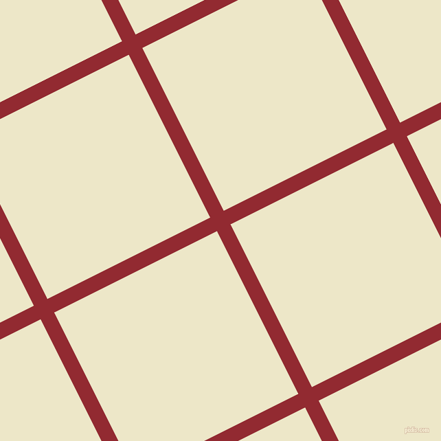 27/117 degree angle diagonal checkered chequered lines, 22 pixel line width, 265 pixel square size, Bright Red and Half And Half plaid checkered seamless tileable