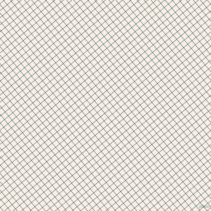 40/130 degree angle diagonal checkered chequered lines, 1 pixel lines width, 17 pixel square size, British Racing Green and Rose White plaid checkered seamless tileable