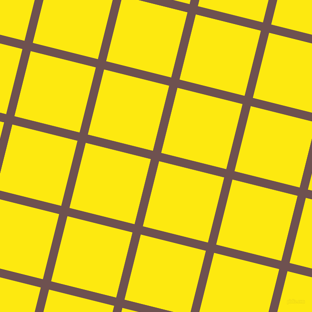 76/166 degree angle diagonal checkered chequered lines, 17 pixel lines width, 134 pixel square size, Buccaneer and Lemon plaid checkered seamless tileable