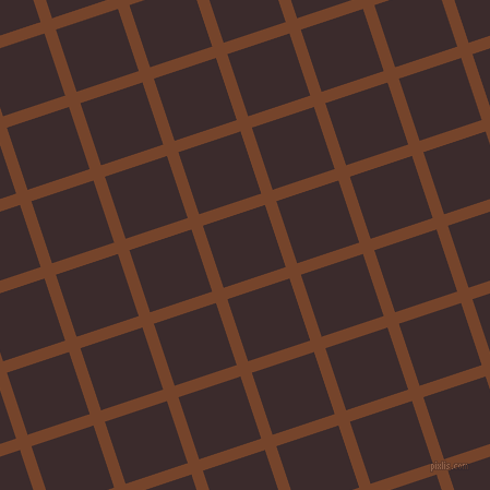 18/108 degree angle diagonal checkered chequered lines, 11 pixel lines width, 60 pixel square size, Bull Shot and Havana plaid checkered seamless tileable