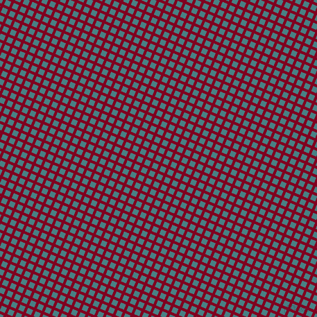 67/157 degree angle diagonal checkered chequered lines, 4 pixel lines width, 8 pixel square size, Burgundy and Paradiso plaid checkered seamless tileable