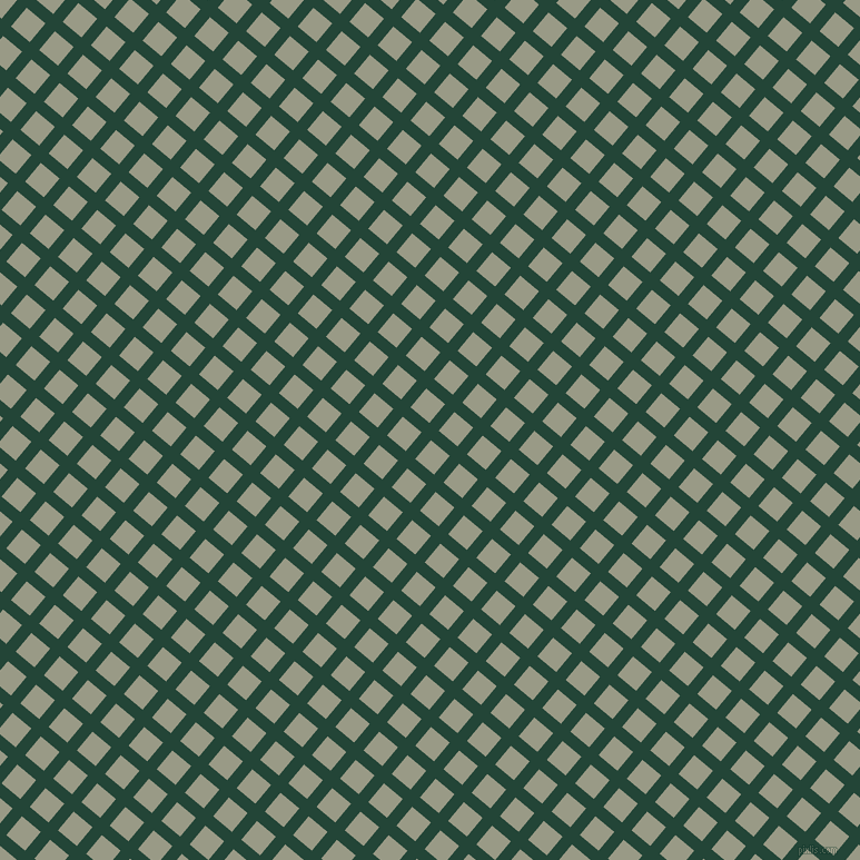 50/140 degree angle diagonal checkered chequered lines, 11 pixel line width, 22 pixel square size, Burnham and Lemon Grass plaid checkered seamless tileable