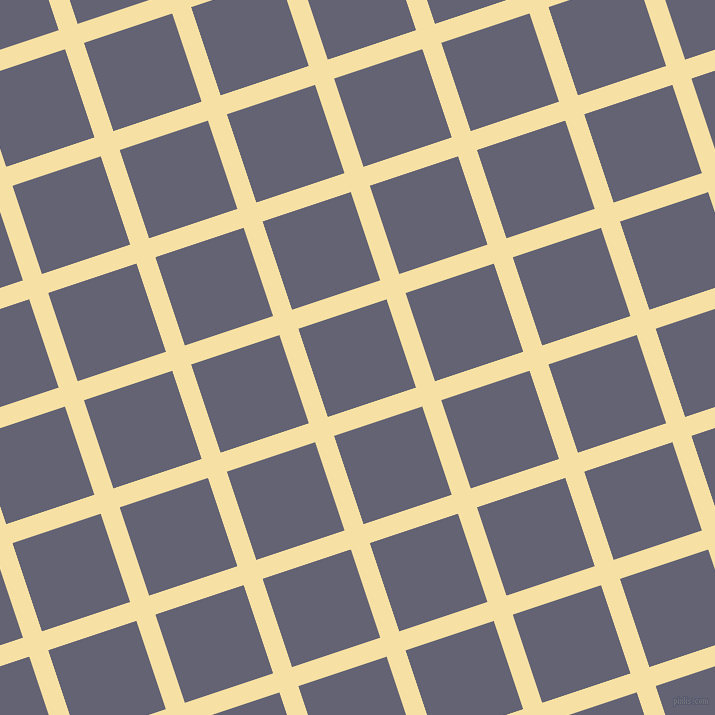 18/108 degree angle diagonal checkered chequered lines, 20 pixel lines width, 93 pixel square size, Buttermilk and Comet plaid checkered seamless tileable