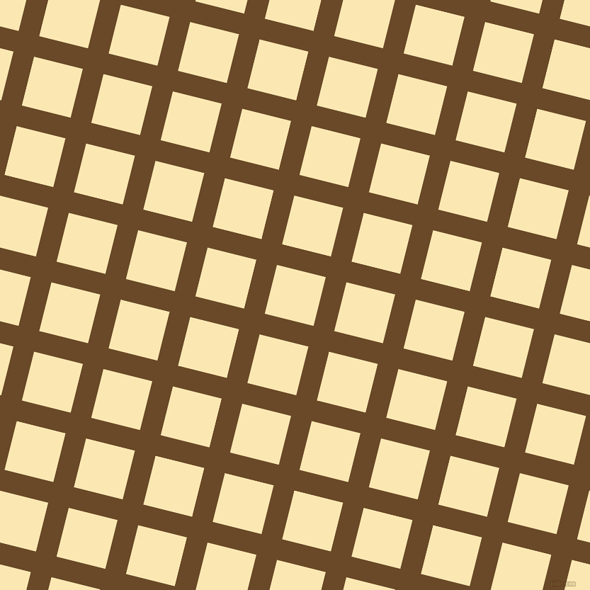 76/166 degree angle diagonal checkered chequered lines, 30 pixel lines width, 71 pixel square size, Cafe Royale and Banana Mania plaid checkered seamless tileable