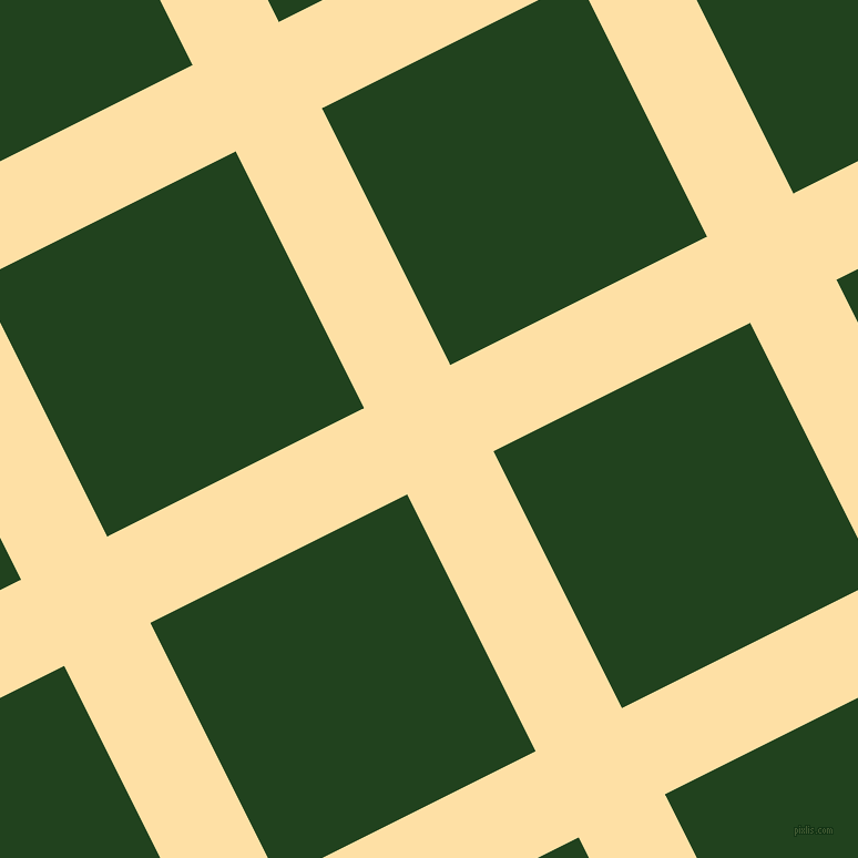27/117 degree angle diagonal checkered chequered lines, 87 pixel line width, 259 pixel square size, Cape Honey and Myrtle plaid checkered seamless tileable
