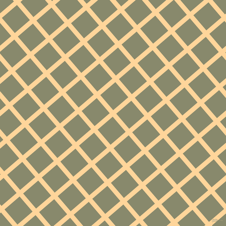 41/131 degree angle diagonal checkered chequered lines, 15 pixel line width, 64 pixel square size, Caramel and Bitter plaid checkered seamless tileable