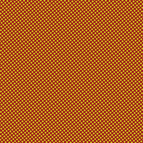 40/130 degree angle diagonal checkered chequered lines, 3 pixel lines width, 6 pixel square size, Carmine and Barberry plaid checkered seamless tileable