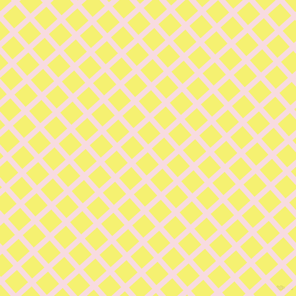 42/132 degree angle diagonal checkered chequered lines, 11 pixel line width, 33 pixel square size, Carousel Pink and Dolly plaid checkered seamless tileable