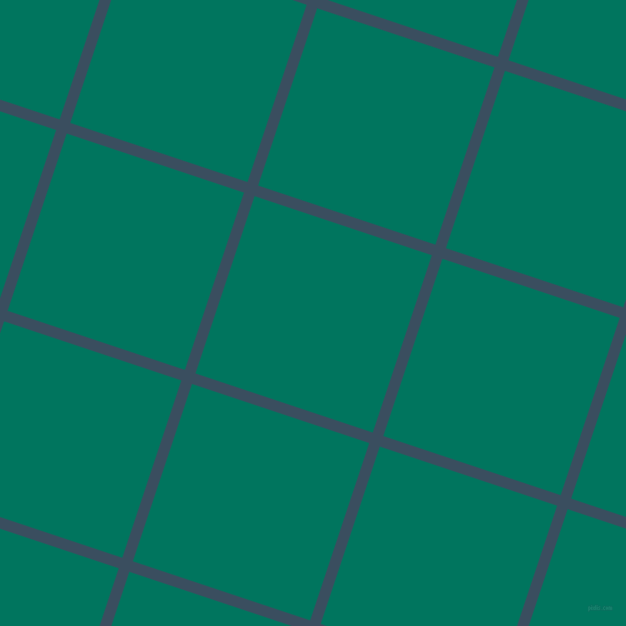 72/162 degree angle diagonal checkered chequered lines, 16 pixel lines width, 269 pixel square size, Cello and Tropical Rain Forest plaid checkered seamless tileable