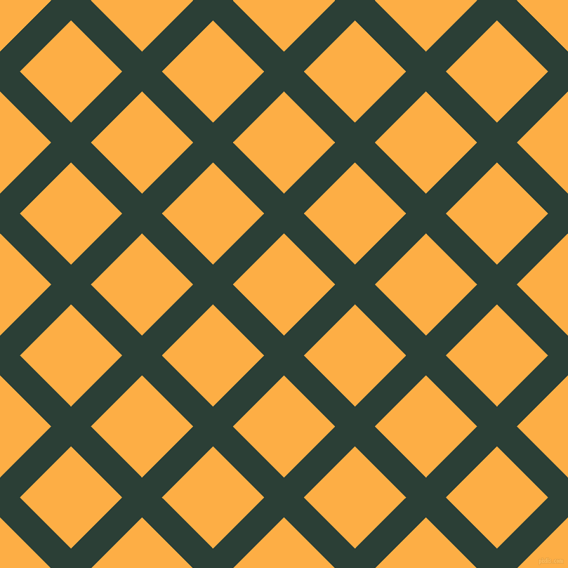 45/135 degree angle diagonal checkered chequered lines, 40 pixel line width, 103 pixel square size, Celtic and My Sin plaid checkered seamless tileable