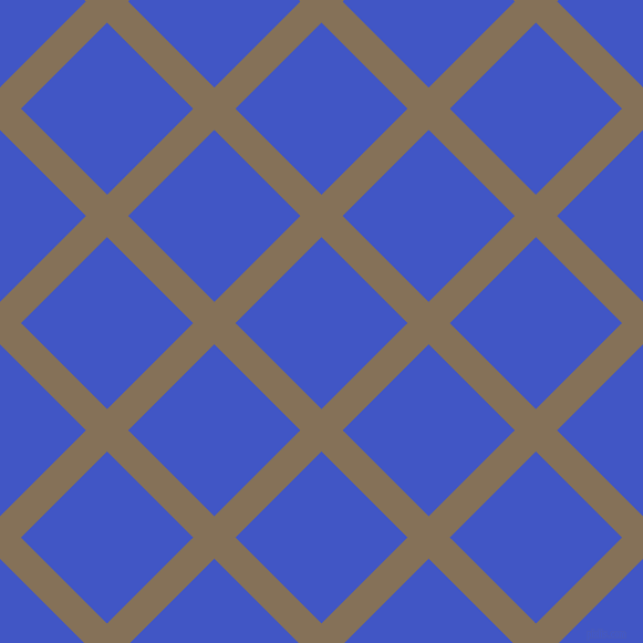 45/135 degree angle diagonal checkered chequered lines, 27 pixel line width, 110 pixel square size, Cement and Free Speech Blue plaid checkered seamless tileable