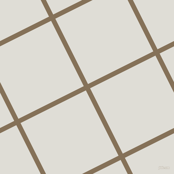 27/117 degree angle diagonal checkered chequered lines, 15 pixel lines width, 233 pixel square size, Cement and Sea Fog plaid checkered seamless tileable