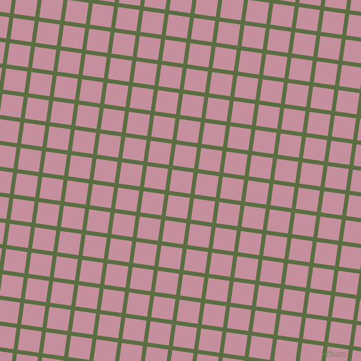 82/172 degree angle diagonal checkered chequered lines, 6 pixel line width, 31 pixel square size, Chalet Green and Viola plaid checkered seamless tileable