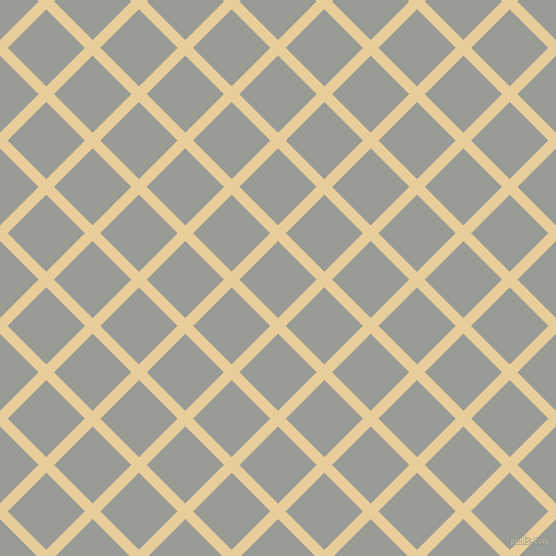 45/135 degree angle diagonal checkered chequered lines, 10 pixel line width, 50 pixel square size, Chamois and Delta plaid checkered seamless tileable