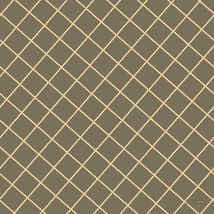 49/139 degree angle diagonal checkered chequered lines, 3 pixel line width, 38 pixel square size, Chamois and Pablo plaid checkered seamless tileable
