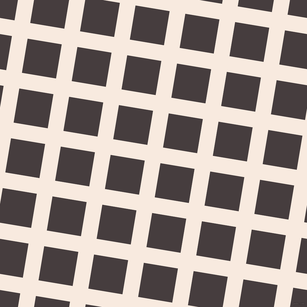 81/171 degree angle diagonal checkered chequered lines, 51 pixel line width, 111 pixel square size, Chardon and Jon plaid checkered seamless tileable