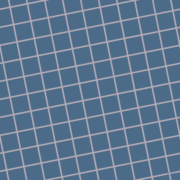 11/101 degree angle diagonal checkered chequered lines, 5 pixel lines width, 52 pixel square size, Chatelle and Wedgewood plaid checkered seamless tileable