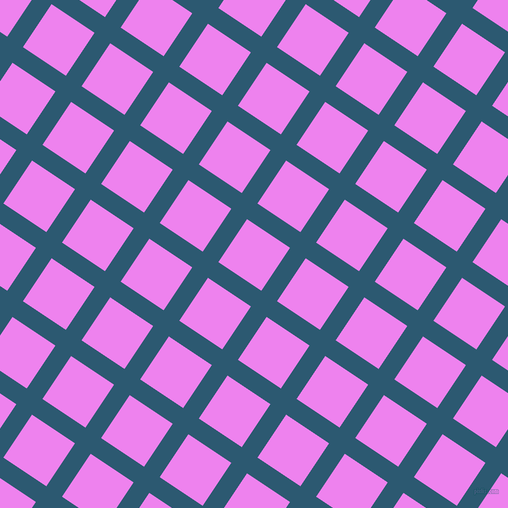 56/146 degree angle diagonal checkered chequered lines, 27 pixel lines width, 74 pixel square size, Chathams Blue and Violet plaid checkered seamless tileable