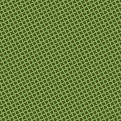 27/117 degree angle diagonal checkered chequered lines, 4 pixel lines width, 9 pixel square size, Chelsea Cucumber and Verdun Green plaid checkered seamless tileable