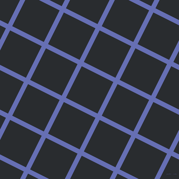 63/153 degree angle diagonal checkered chequered lines, 16 pixel lines width, 120 pixel square size, Chetwode Blue and Bunker plaid checkered seamless tileable