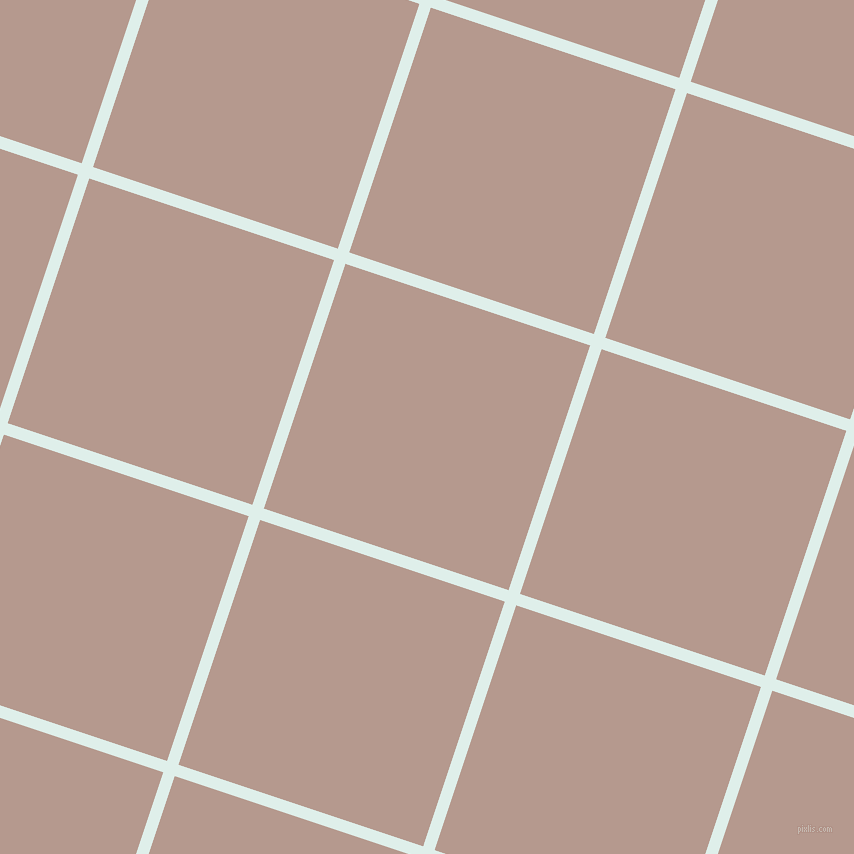 72/162 degree angle diagonal checkered chequered lines, 12 pixel line width, 258 pixel square size, Clear Day and Del Rio plaid checkered seamless tileable