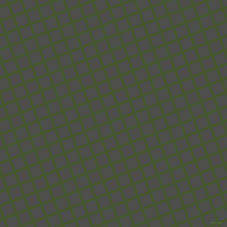 21/111 degree angle diagonal checkered chequered lines, 9 pixel line width, 34 pixel square size, Clover and Ship Grey plaid checkered seamless tileable