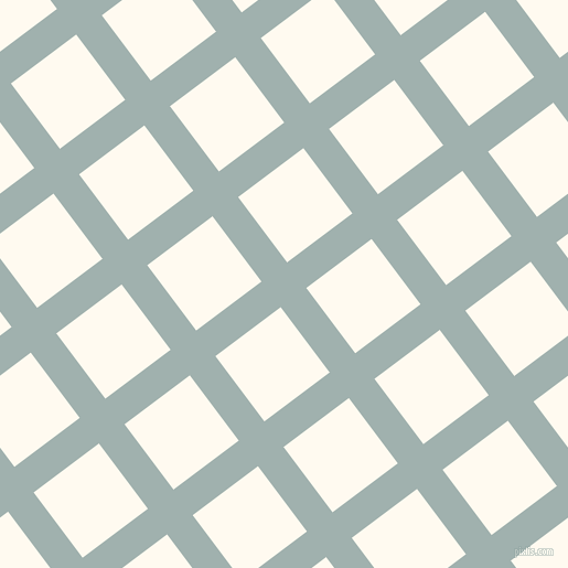 37/127 degree angle diagonal checkered chequered lines, 29 pixel lines width, 74 pixel square size, Conch and Floral White plaid checkered seamless tileable