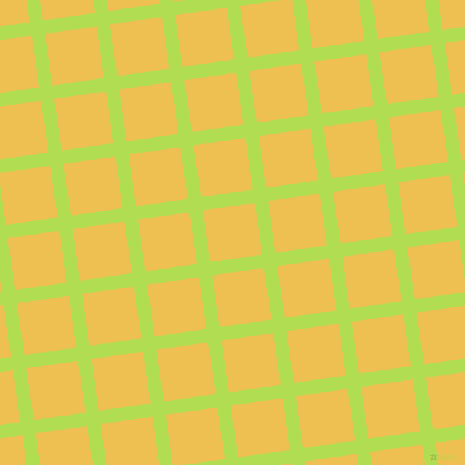 8/98 degree angle diagonal checkered chequered lines, 19 pixel line width, 74 pixel square size, Conifer and Cream Can plaid checkered seamless tileable