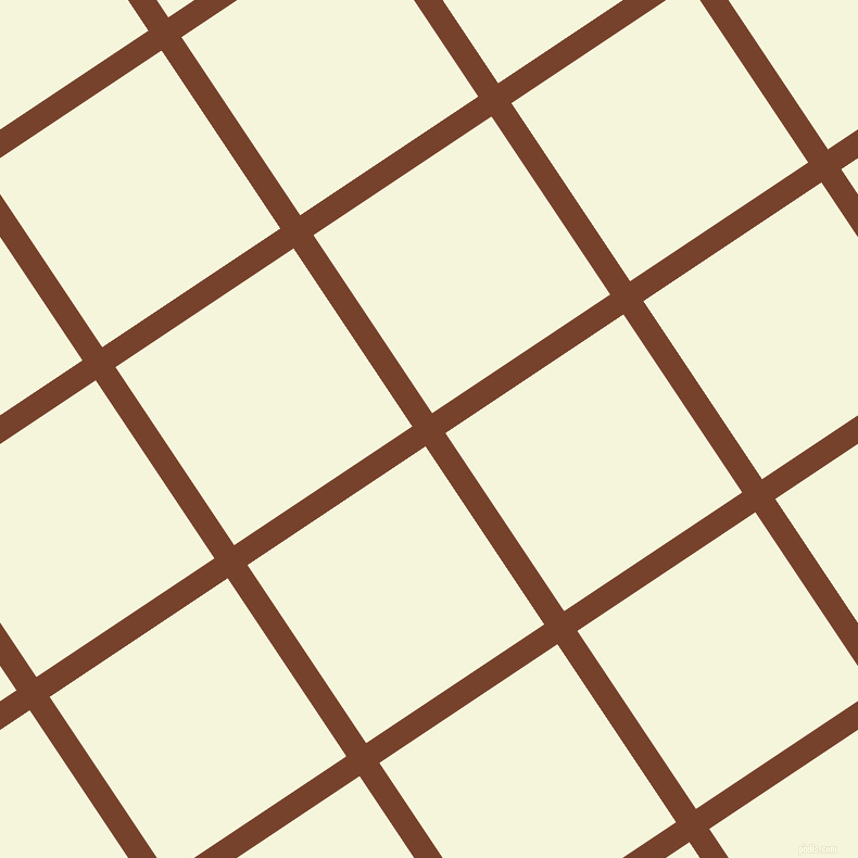 34/124 degree angle diagonal checkered chequered lines, 22 pixel lines width, 197 pixel square size, Copper Canyon and Beige plaid checkered seamless tileable