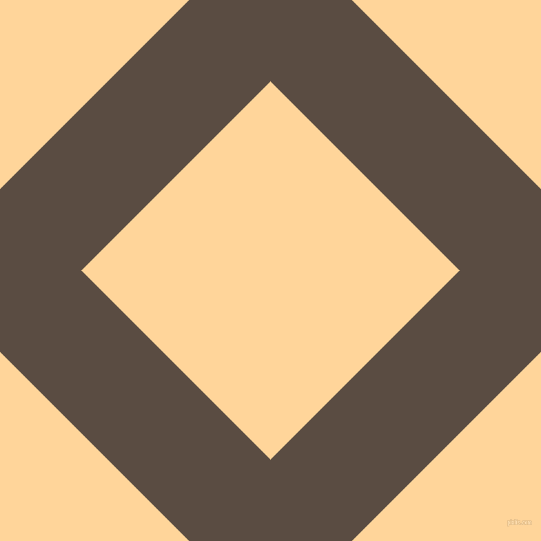 45/135 degree angle diagonal checkered chequered lines, 167 pixel lines width, 388 pixel square size, Cork and Caramel plaid checkered seamless tileable