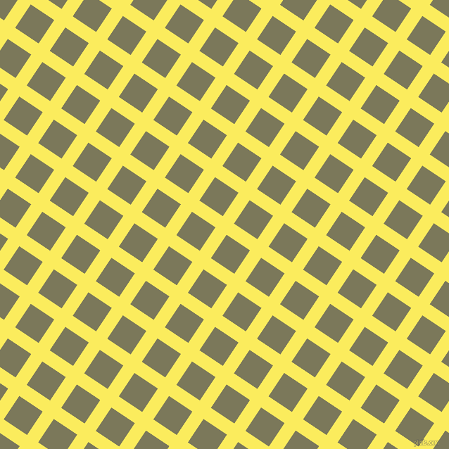 56/146 degree angle diagonal checkered chequered lines, 19 pixel line width, 40 pixel square size, Corn and Kokoda plaid checkered seamless tileable