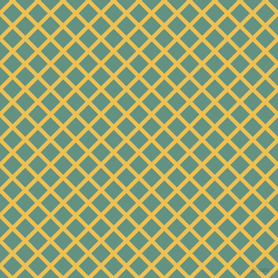 45/135 degree angle diagonal checkered chequered lines, 8 pixel line width, 28 pixel square size, Cream Can and Patina plaid checkered seamless tileable