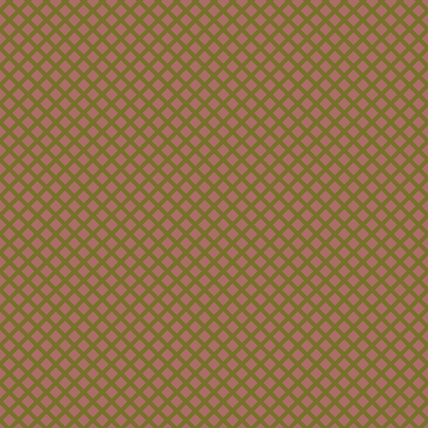 45/135 degree angle diagonal checkered chequered lines, 6 pixel line width, 13 pixel square size, Crete and Coral Tree plaid checkered seamless tileable