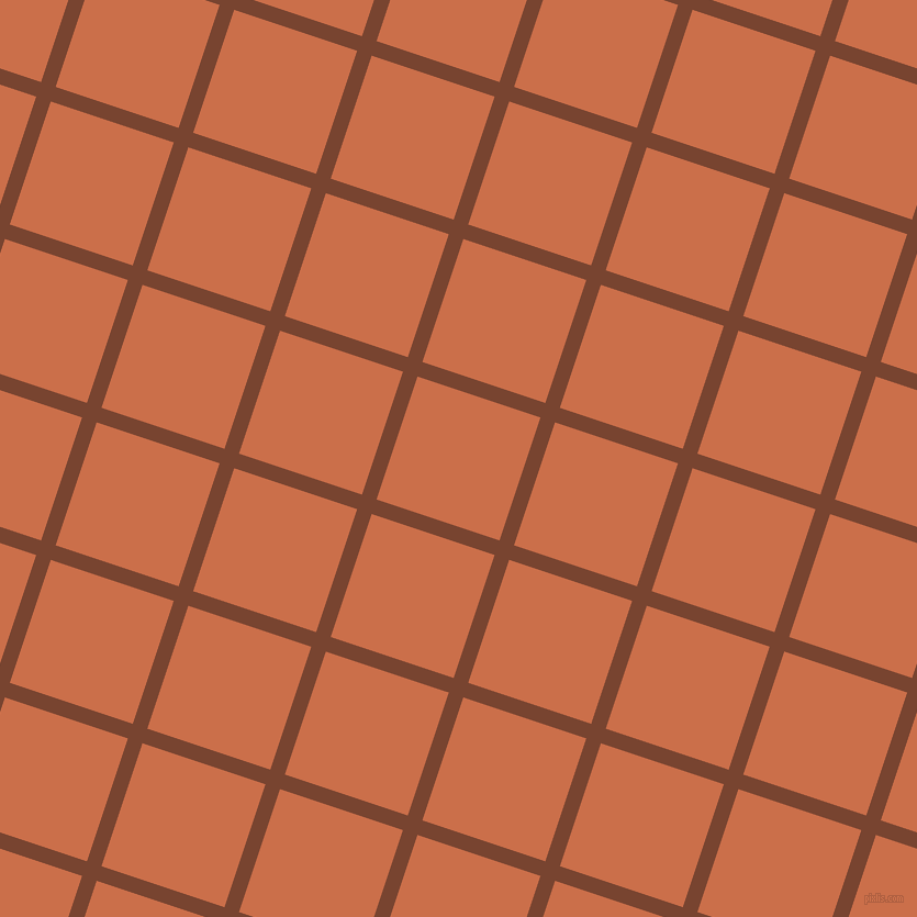 72/162 degree angle diagonal checkered chequered lines, 14 pixel lines width, 118 pixel square size, Cumin and Red Damask plaid checkered seamless tileable