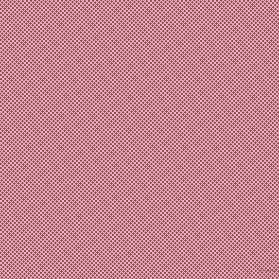 49/139 degree angle diagonal checkered chequered lines, 2 pixel line width, 4 pixel square size, Cupid and Solid Pink plaid checkered seamless tileable