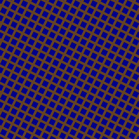 63/153 degree angle diagonal checkered chequered lines, 8 pixel line width, 18 pixel square sizeDark Brown and Dark Blue plaid checkered seamless tileable