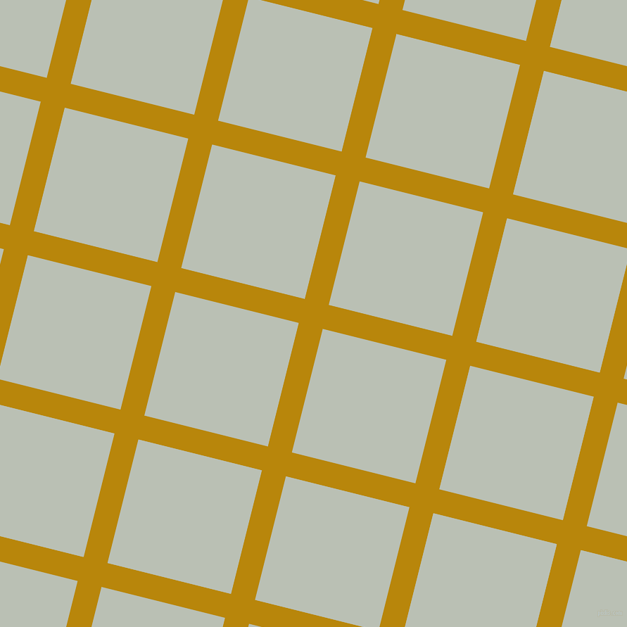 76/166 degree angle diagonal checkered chequered lines, 35 pixel line width, 181 pixel square size, Dark Goldenrod and Pumice plaid checkered seamless tileable